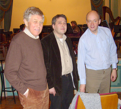 With David Matthews and James Francis Brown